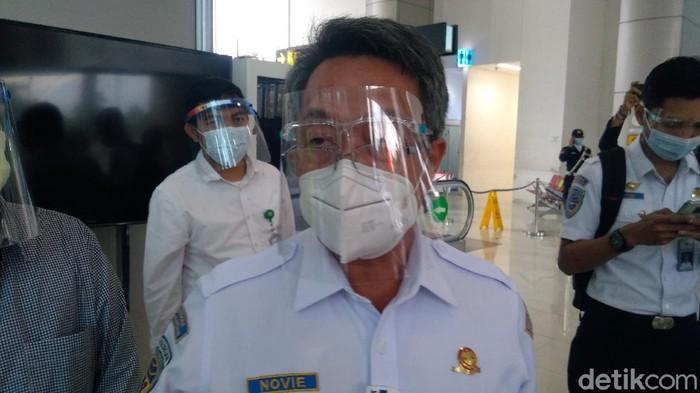 Dirjen Perhubungan Udara Kementerian Perhubungan Novie Riyanto (Adhyasta Dirgantara/detikcom)