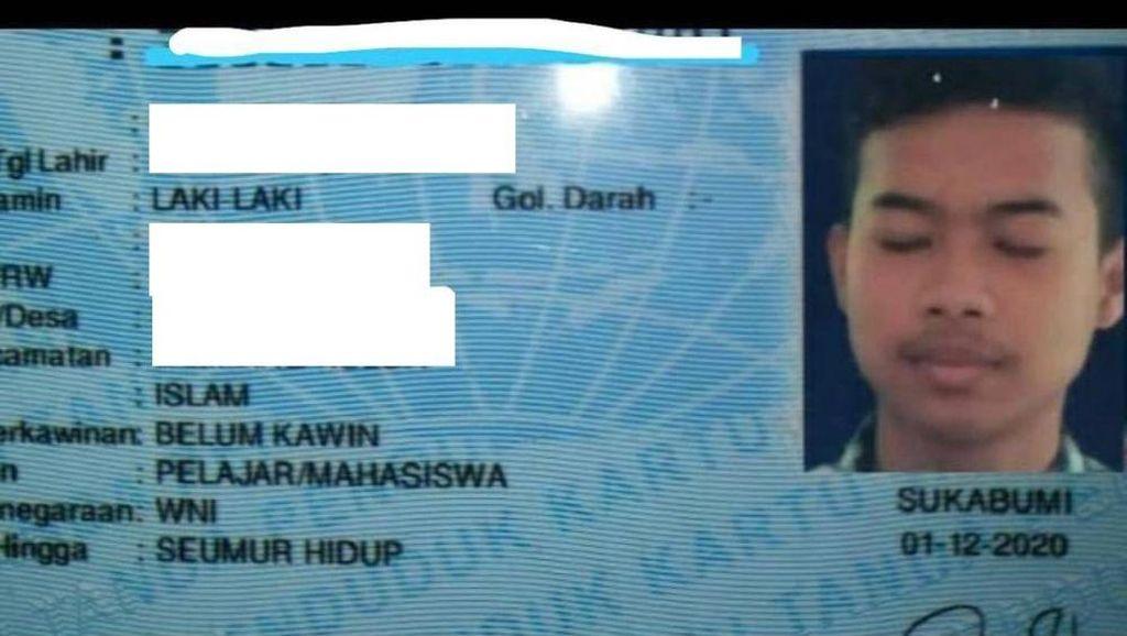 Foto KTP Merem Viral Bikin Ngakak di Sukabumi, Ternyata Editan