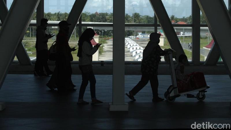 Geliat Bandara YIA Yogyakarta Jelang Liburan Nataru 2021