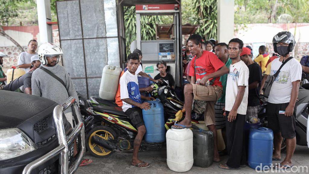 Kacaunya Isi BBM di Perbatasan RI-Timor Leste