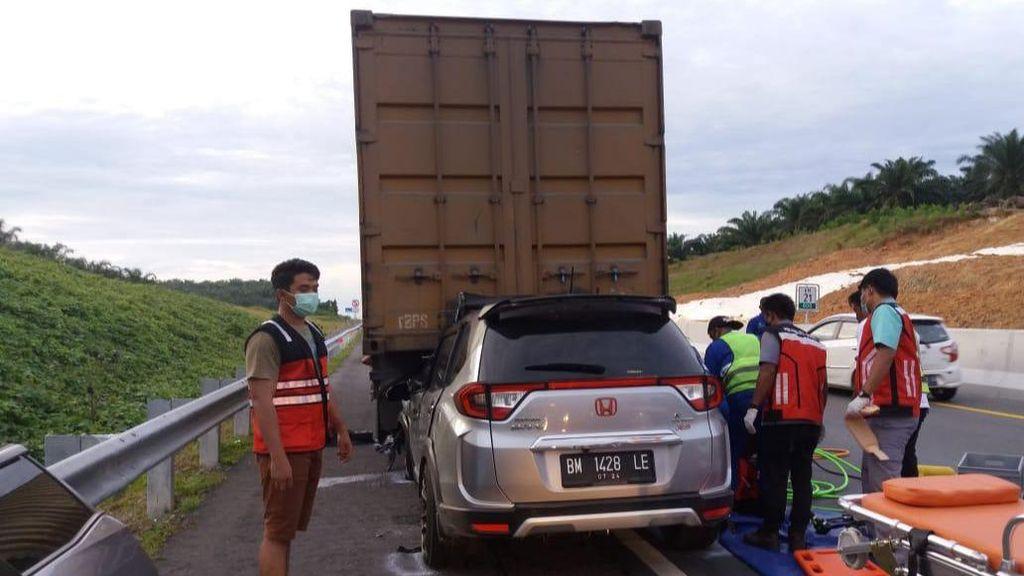Polisi Catat Ada 35 Kasus Kecelakaan di Tol Pekanbaru-Dumai Usai Diresmikan