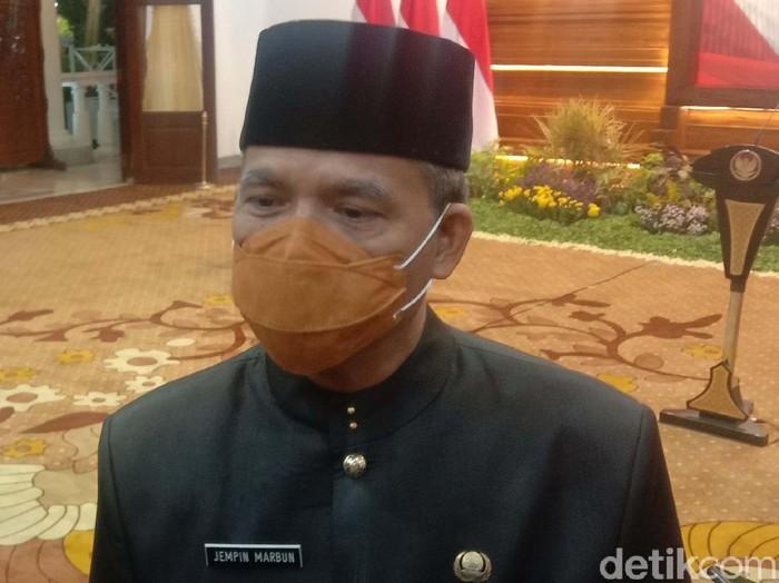 Kepala Biro Administrasi Pemerintahan dan Otonomi Daerah Setdaprov Jatim, Jempin Marbun