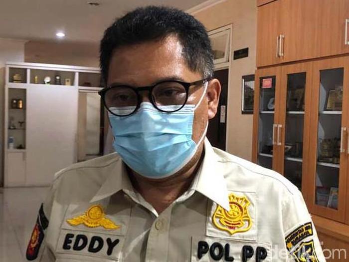 Kepala Satpol PP Kota Surabaya Eddy Christijanto