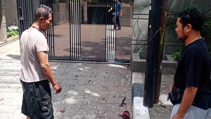 Ledakan terjadi di kantor KAMI Menteng, Jakpus