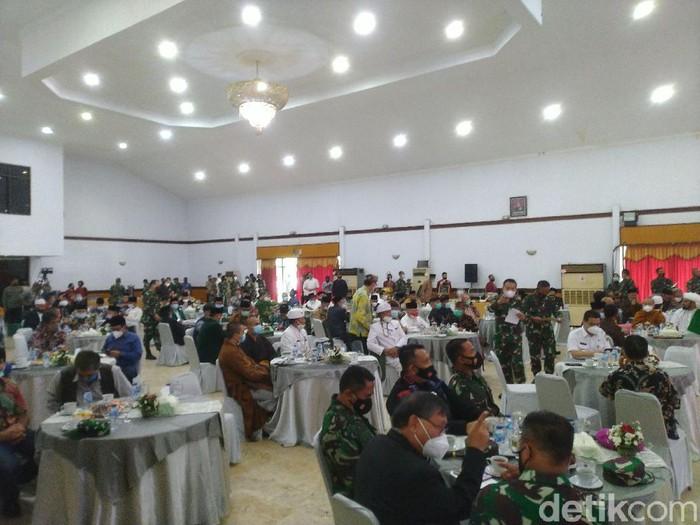 Mayjen TNI-Wagub DKI gelar pertemuan dengan tokoh agama (Sachril/detikcom)