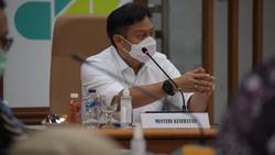 Segera usai dilantik, Menkes Budi Gunadi Sadikin dan wakilnya Dante Saksono Harbuwono langsung menggelar rapat. Vaksinasi COVID-19 jadi prioritas.