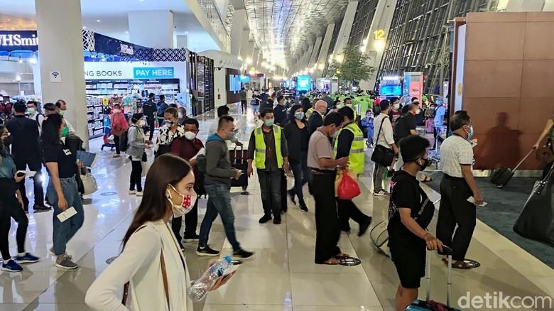 Situasi terkini Bandara Soetta, Rabu (23/12/2020)
