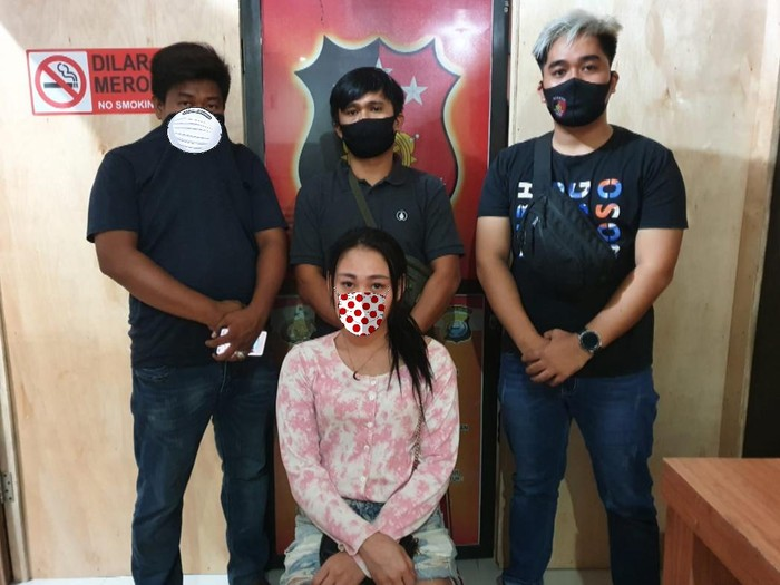 DJ asal Sulsel diamankan petugas kepolisian usai menyebarkan ujaran kebencian terhadap institusi Polri (Dok Istimewa)
