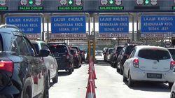 Libur Tahun Baru Usai, 322.764 Kendaraan Kembali ke Jakarta Via Tol
