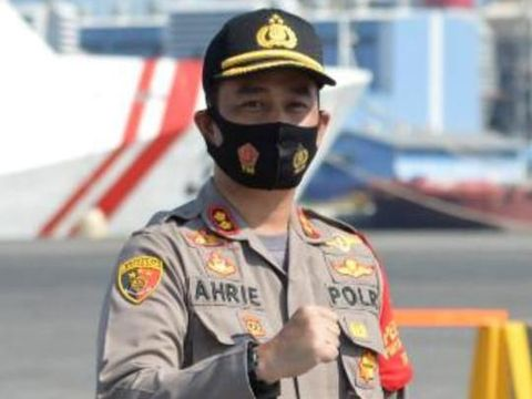 Kapolres Pelabuhan Tanjung Priok AKBP Ahrie Sonta (ist)