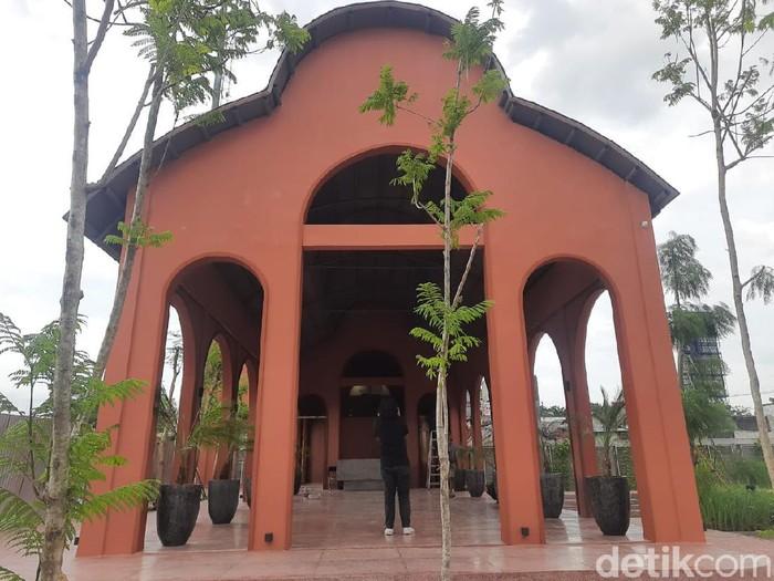 Museum Olahraga di Jalan Indragiri