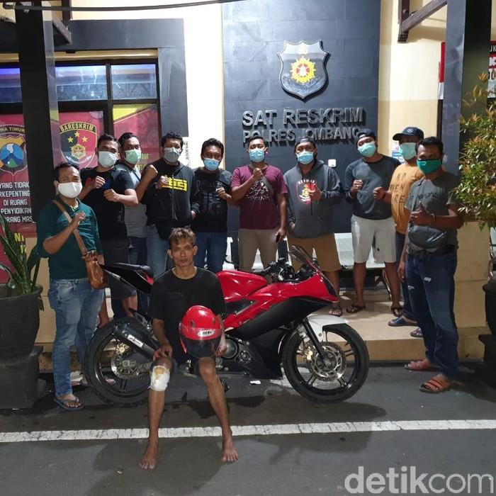 Pembunuh Janda di Jombang Diringkus, Kaki Pelaku Ditembak Dua Kali
