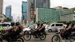 Potret Arus Lalu Lintas di Jakarta Saat Libur Natal