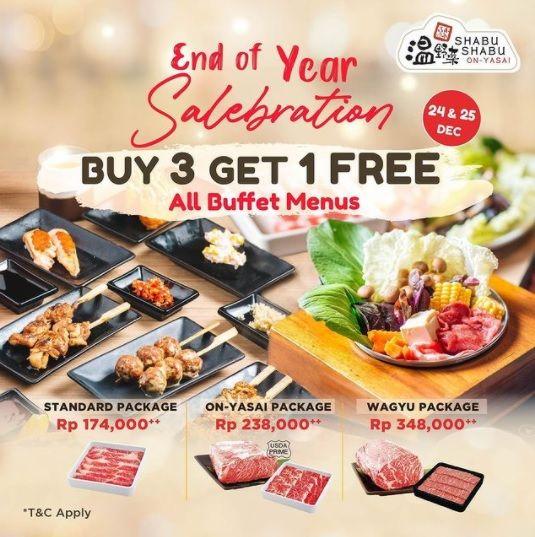Promo Diskon Natal Restoran Jakarta