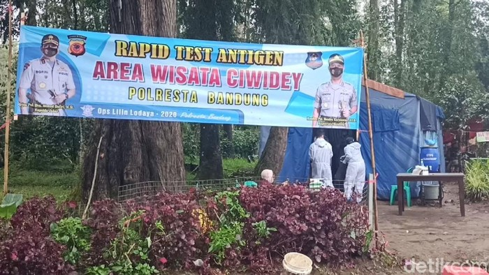 Rapid Antigen di Ciwidey Bandung
