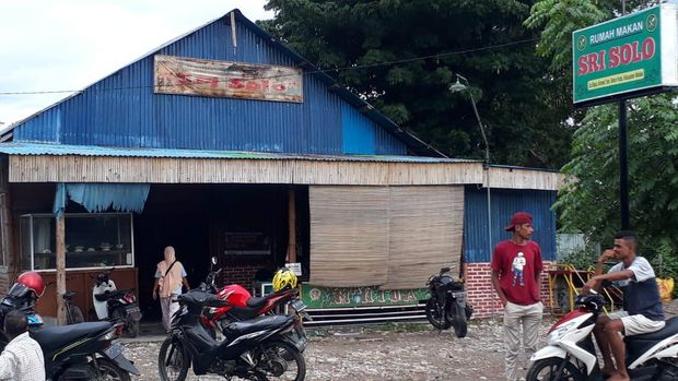 rumah makan Sri Solo Malaka