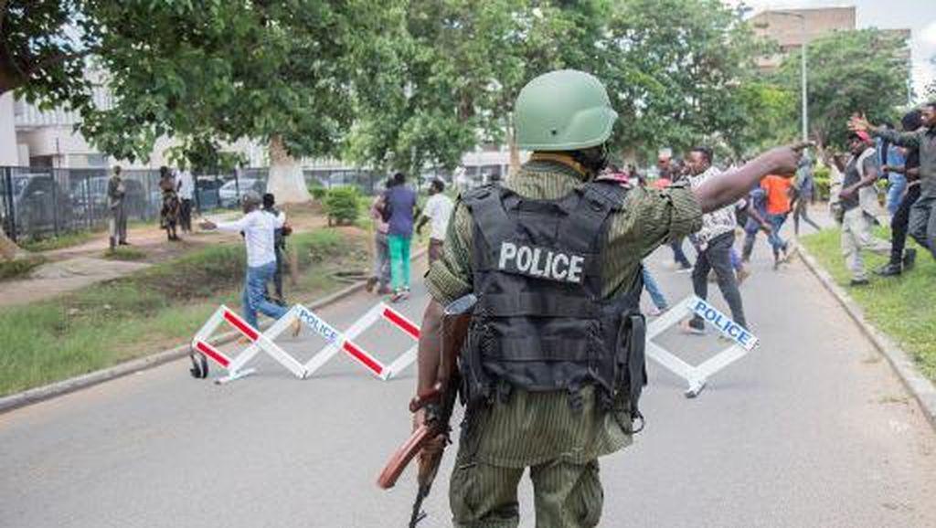 DuaOrang Tewas Tertembak dalam Demonstrasi di Zambia