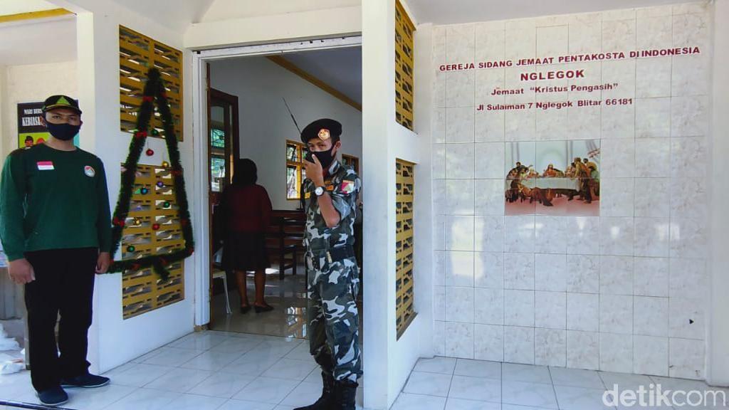 Banser Blitar Ikut Jaga Misa di Gereja: Hubbul Wathan Minal Iman