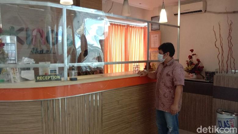 Ketua Perhimpunan Hotel dan Restoran Indonesia (PHRI) Kabupaten Kudus, Tri Suyitno kepada wartawan saat ditemui di salah satu hotel di Kudus, Kamis (3/12/2020).