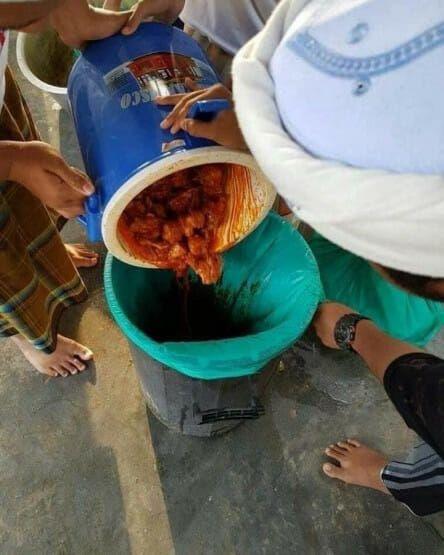 Miris! Sekolah Ini Dapat Donasi Makanan Basi yang Bikin Netizen Emosi