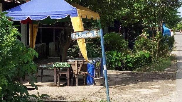 Suasana di Desa Kolam lokasi misteri Sukmo Ilang (Datuk Haris-detikcom)