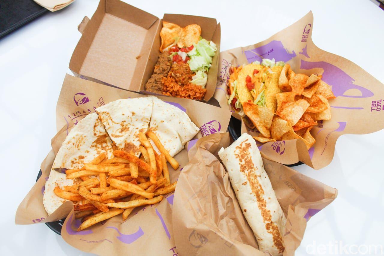 Taco Bell: Cicip Tacos Supreme dan Quesadilla