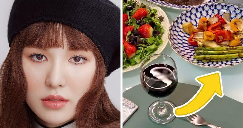 Wendy Red Velvet Pamer Hidangan Natal Pakai Piring Rp 20 Juta