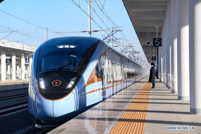 China Tambah Lagi Jalur Kereta Cepat Baru 618 Km!