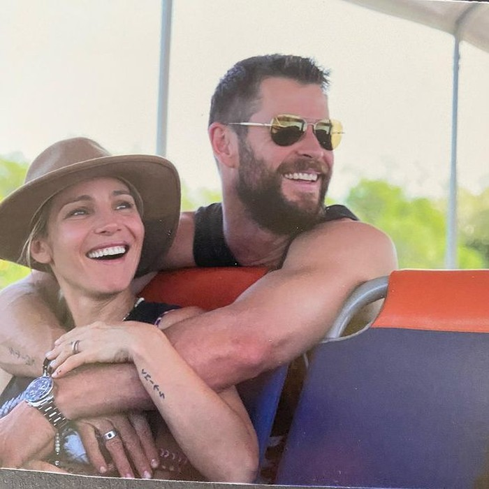 Chris Hemsworth dan Elsa Pataky