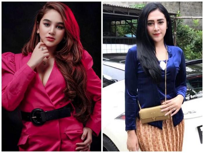 Hana Hanifah dan Vernita Syabilla yang sempat terseret kasus prostitusi di Medan dan Lampung (dok Istimewa)
