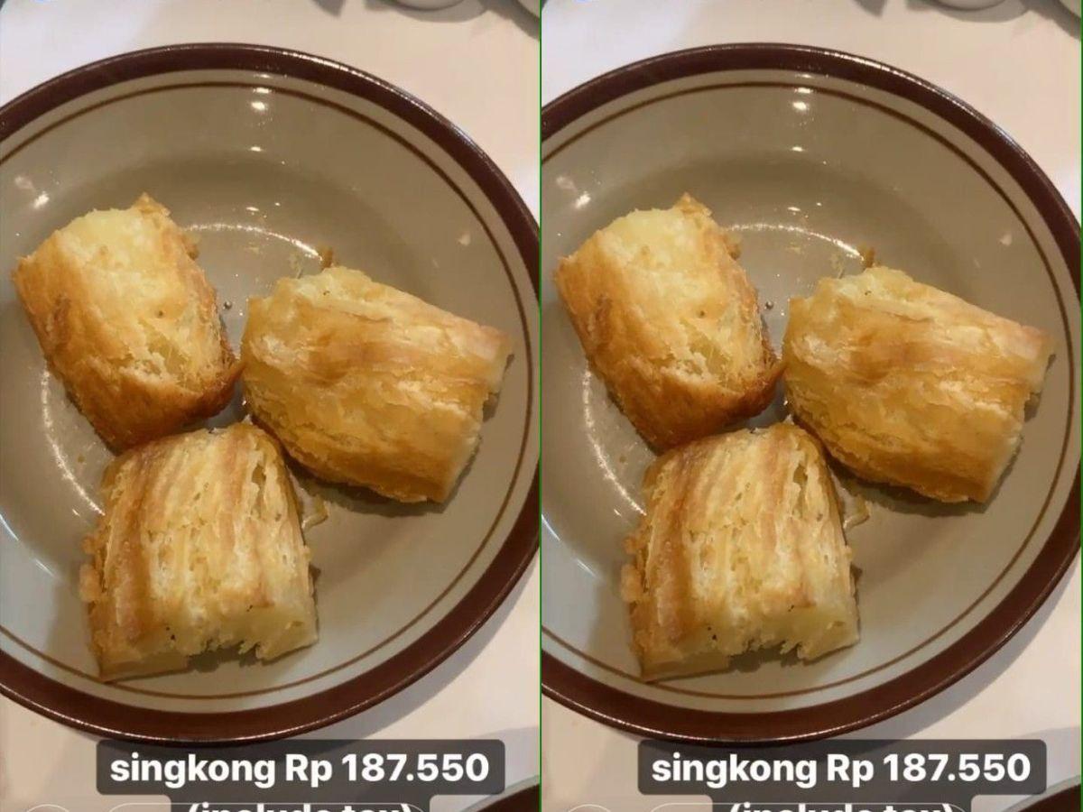 Ketika 5 Makanan Rakyat Dijual Mahal, Singkong Goreng Harganya Rp 187 Ribu!