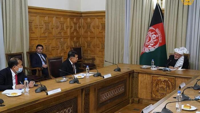 Pertemuan JK dan Presiden Afghanistan di Kabul, Kamis (24/12/2020)