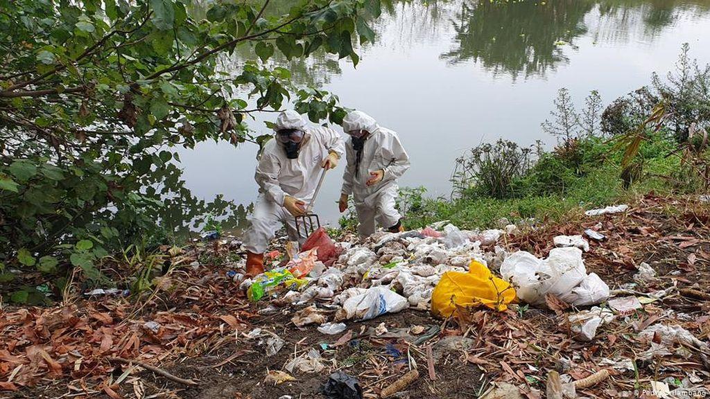 Sampah Popok Mencemari Sungai Brantas, Ancaman Bagi Lingkungan dan Warga