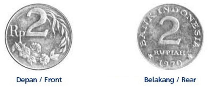 Selain 6 uang kertas. Ada juga uang logam yang sudah dicabut dan ditarik dari peredaran. Uang logam itu masih bisa ditukarkan hingga 14 November 2029.