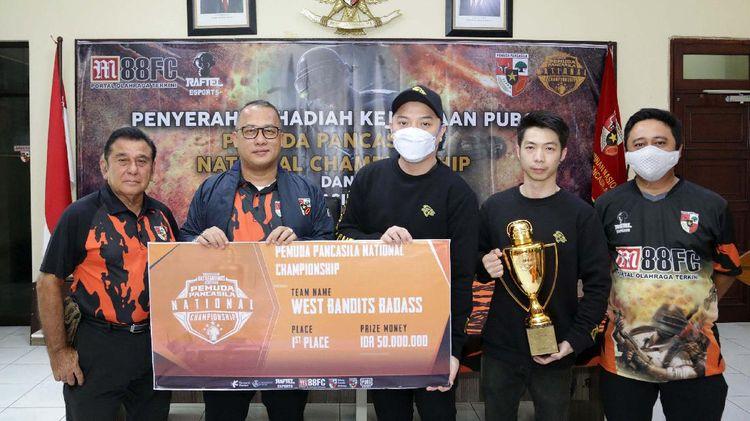 888 Tim Ikuti Kejuaraan PUBG Pemuda Pancasila