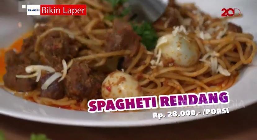 Bikin Laper! Enaknya Spaghetti Rendang hingga Sop Buntut Bakar