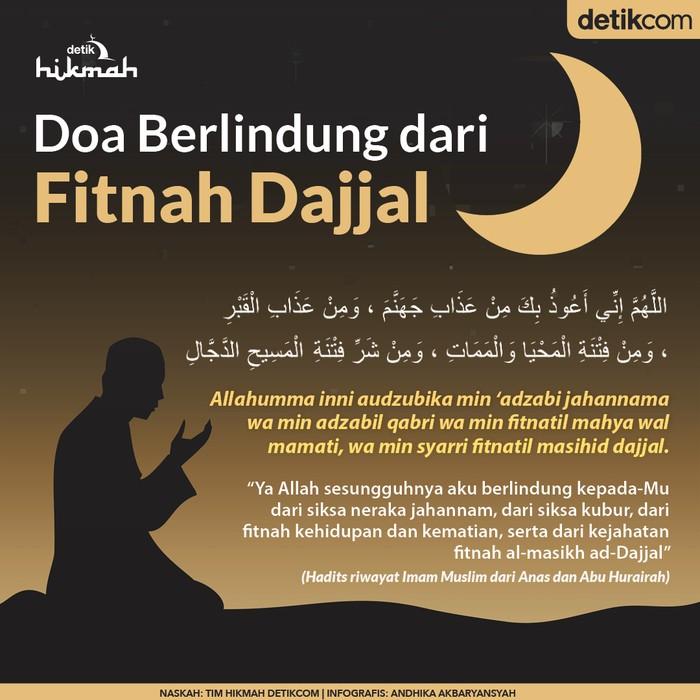 Doa berlindung dari fitnah dajjal
