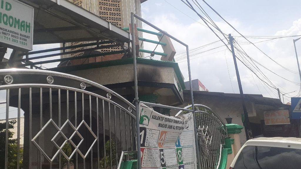 Gempar Pelemparan Molotov ke Masjid di Cengkareng Jakbar