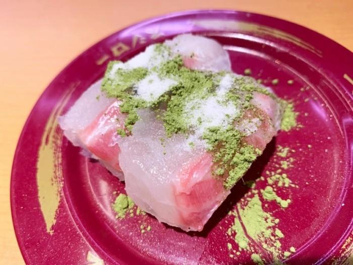 Sushi Pakai Garam dan Matcha