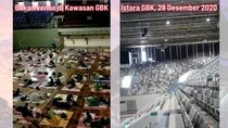 Hoax! Istora Senayan Dipenuhi Pasien Corona