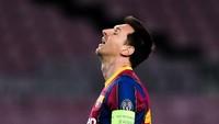 Lionel Messi Raib dari Sesi Latihan Barcelona, Ada Apa?