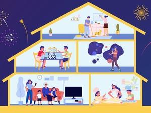 5 Ide Seru Rayakan Momen Tahun Baru di Rumah