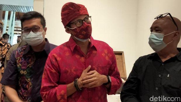 Menparekraf Sandiaga Uno Kunker ke Bali
