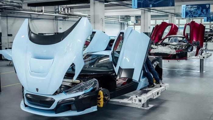 Mobil listrik Rimac C_Two siap dirilis tahun 2021