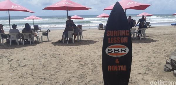 Padahal dulu kawasan ini surganya para surfer. (Bonauli/detikcom)