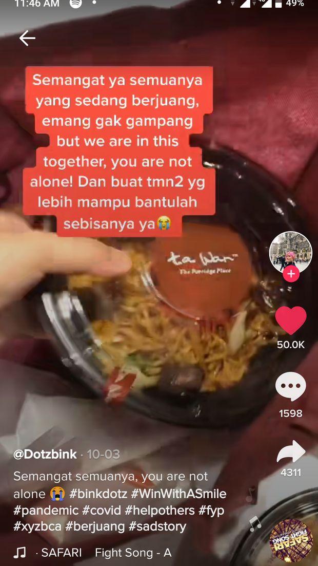Pengusaha Ini Borong Rice Bowl yang Dijajakan Pegawai Restoran