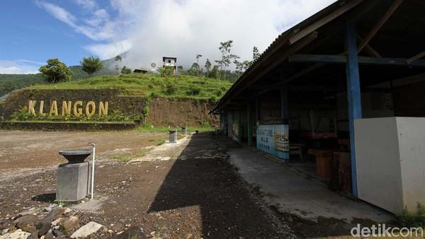 Kawasan ini sempat hancur saat erupsi Merapi 2010 silam.