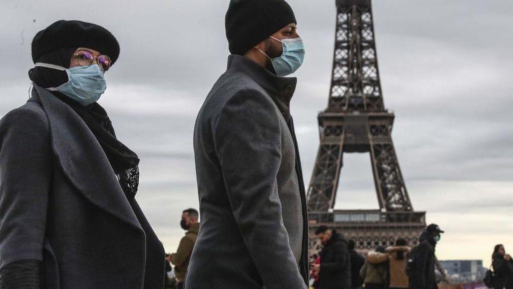 Kasus Covid-19 Meningkat, Prancis Berlakukan Lockdown Terbatas di Paris