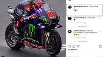 Quartararo Tunggangi Motor Warisan Rossi: Impian Sejak Kecil