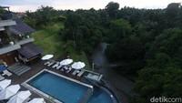 Begini pemandangan alam yang ditawarkan Sthala Ubud Bali di masa libur Nataru.